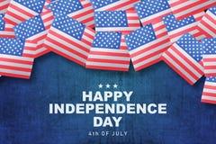 независимость дня счастливая Стоковое фото RF
