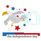 независимость дня Стоковое Изображение