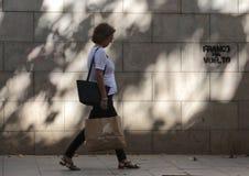 Независимость картин pro в Барселоне Стоковые Изображения