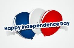 независимость дня счастливая Стоковая Фотография RF