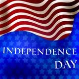 независимость дня счастливая иллюстрация штока