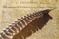 независимость объявления Стоковая Фотография