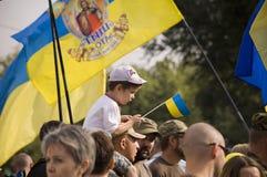 независимость Украина дня стоковая фотография