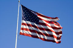 независимость флага дня Стоковое Изображение RF