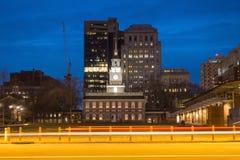 Независимость Hall в Филадельфия, Пенсильвании Стоковое фото RF