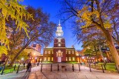 Независимость Hall Филадельфия, Пенсильвания, США стоковое фото