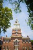 Независимость Hall, Филадельфия, PA, США Стоковые Фотографии RF