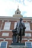 Независимость Hall, Филадельфия, Пенсильвания, США стоковое изображение