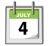 независимый июль 4 дней Стоковые Фото