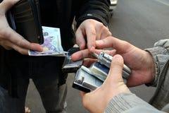 незаконная торговля стоковая фотография
