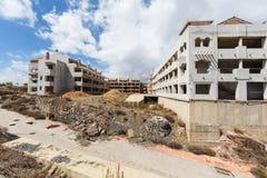 Незаконченная конструкция жилого дома Стоковые Фотографии RF
