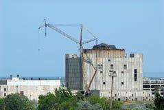 Незаконченная крымская станция атомной энергии Стоковое Изображение