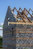 Незаконченная крыша дома Стоковые Фото