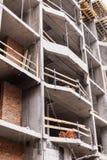 Незаконченное бетонное здание без стен стоковая фотография