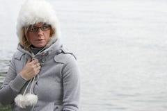 незамужняя женщина портрета Стоковые Фото