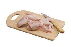 Незрелые крыла цыпленка Стоковые Изображения