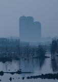 неизбежная урбанизация Стоковые Изображения