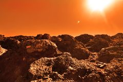 Неизвестная планета Стоковое Изображение RF