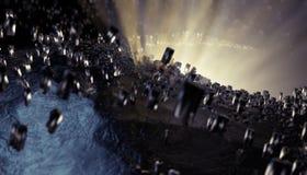 Неизвестная планета стоковая фотография rf