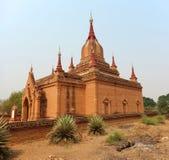 Неизвестный висок в Bagan стоковая фотография rf