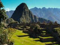 Неимоверное Machu Picchu Стоковые Изображения RF