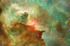 Неимоверно красивая галактика много световых год далеко от земли стоковая фотография