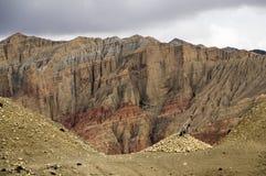 Неимоверный минеральный ландшафт верхнего мустанга Стоковые Изображения