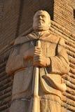 неисвестне статуи воина Стоковые Фотографии RF