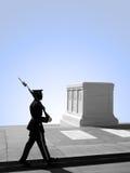 неисвестне усыпальницы воина кладбища arlington национальное стоковое изображение rf