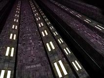 неисвестне alien фантазии окружающей среды футуристическое Стоковое Изображение RF