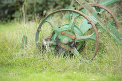Неиспользованное equiptment фермы Стоковые Фотографии RF