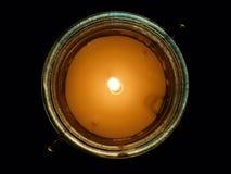 Неидеальная свеча Стоковое Изображение RF