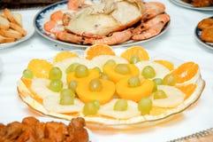 Некоторая аппетитная еда Стоковые Фото