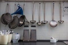 Некоторая утварь на кухне Стоковое Изображение