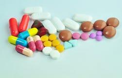 Некоторое лекарство Стоковые Изображения RF