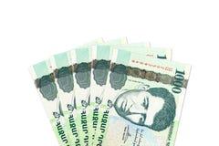Некоторые 1000 армянских бумажных денег драхмы obverse стоковая фотография rf