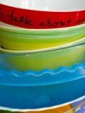 Некоторые плиты Стоковые Изображения RF