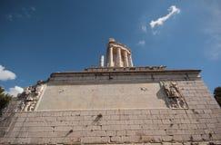 Некоторые римские руины Стоковое Изображение