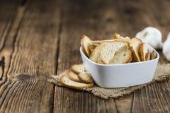 Некоторые свежие испеченные обломоки хлеба Стоковое фото RF