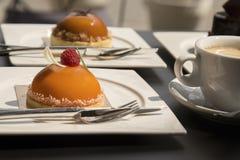 Некоторые торт и десерт Стоковое Фото
