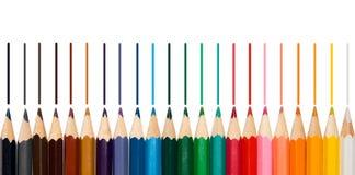 Некоторые crayons Стоковое Фото