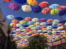 Некоторый вид ouside найденного зонтиком стоковая фотография