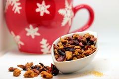 Некоторый травяной чай Стоковые Изображения