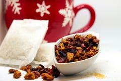 Некоторый травяной чай Стоковое Фото