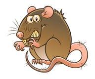 Некрасивая серая крыса бесплатная иллюстрация