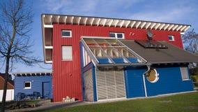 немецкая дом деревянная Стоковые Фотографии RF