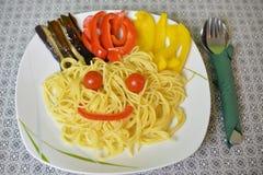 Немецкая еда вентилятора Стоковая Фотография RF