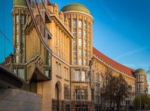 Немецкая национальная библиотека Лейпциг Стоковое Фото