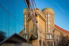 Немецкая национальная библиотека Лейпциг Стоковая Фотография RF