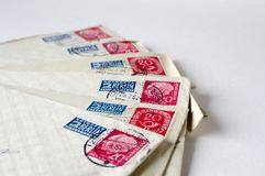 немецкая почта Стоковое Фото
